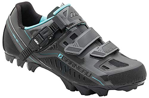 Louis Garneau Women's Mica MTB Bike Shoes, Asphalt, US (7), EU (38)