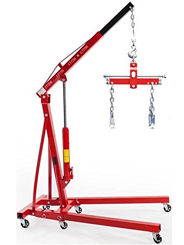 Tuff Concepts Hoist Plaster Lifter 11FT Heavy Duty Drywall Folding Engine Crane