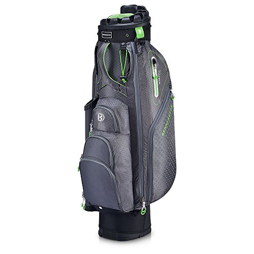 Bennington Quiet Organizer 9 Lite Cart Bag Laser Green