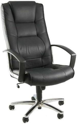 Topstar Ortega Base Leather Executive Office Chair Black Amazon De Kuche Haushalt