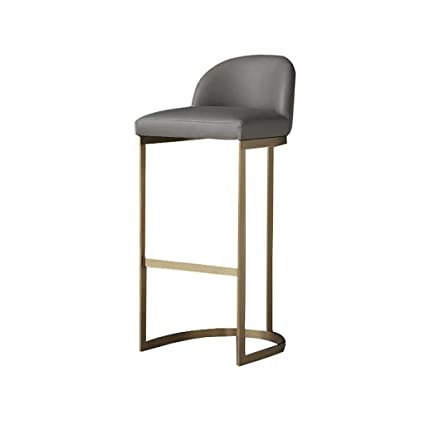 Amazon.com: NYJS Bar Stool,Bar Chair Faux Leather Kitchen ...