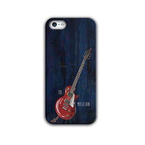 Wellcoda The Musician Bass Guitar 3D Iphone 5 5S Case