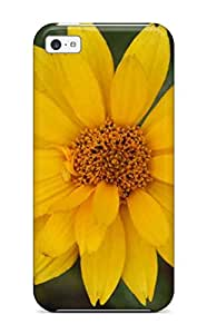 CatherineGrossman Snap On Hard Case Cover Yellow Flowers Protector For Iphone 5c