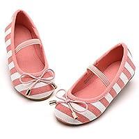 KIDS BRON Bridal Ballet Flats Mary Jane School Shoes(Toddler/Little Girls)