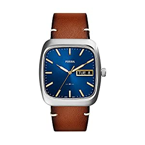 Fossil Men's Rutherford Light Brown Leather Watch