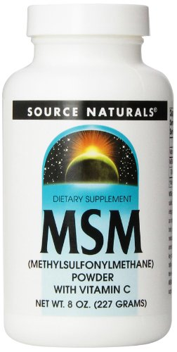 Source Naturals MSM (Methylsulfonylmethane), Powder, 8 Ounce - Msm 8 Oz Powder