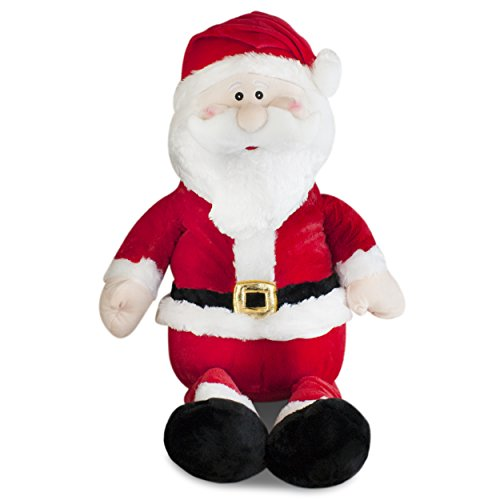Gitzy Jumbo Stuffed Santa Plush 20