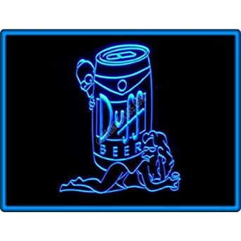 Duff Simpsons Beer Bar Pub Restaurant Neon Light Sign #1: 41FiCRKAyCL SX342 QL70