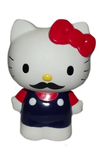 Hello Kitty with Mustache Pen Stand