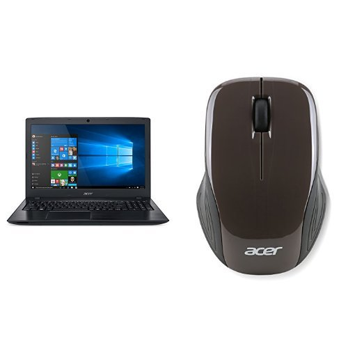 "Price comparison product image Acer Aspire E 15 (15.6"" FHD, i3-7100U, 4GB RAM, 1TB HDD) + Acer Wireless Mouse"