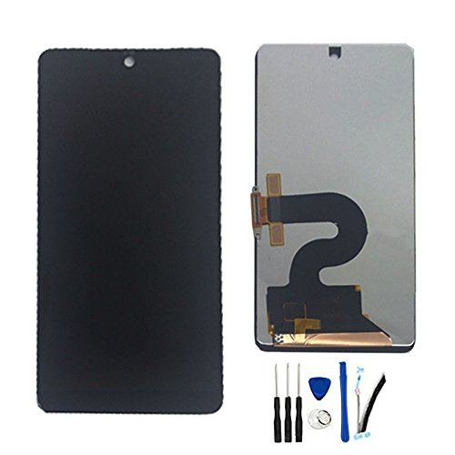SOMEFUN LCD Display Screen digitizer Touch Glass Assembly for Essential Phone PH-1 A11 5.7Inch Replacement Black