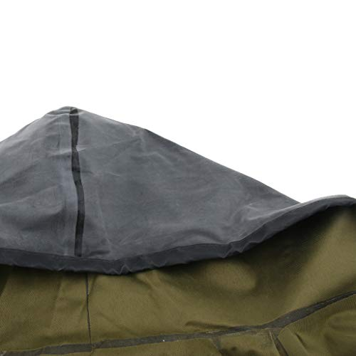 Baosity Rubber Raincoat Labor Protection Raincoat Thicken Canvas Poncho Cloth by Baosity (Image #4)