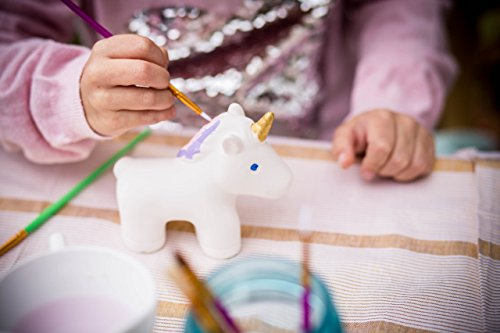 Set of 6 Unicorn Painting Party for Kids DIY Paint Your Own - Express Day Priority 2 Usps Mail