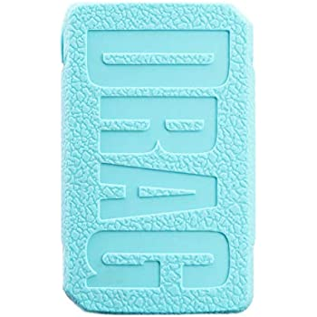 KKmod for VOOPOO Drag Mini Silicone Case, Protective Texture Cover Sleeve  Shield for Voopoo Drag Mini 117W TC Mod Kit (Teal)