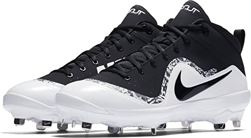 Nike Men's Force Air Trout 4 Pro Metal Baseball Cleats (7.5, ()
