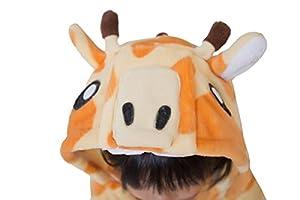 Caringgarden Cartoon Cosplay One-piece Pajamas Animal Onesie Sleepwear for Kids