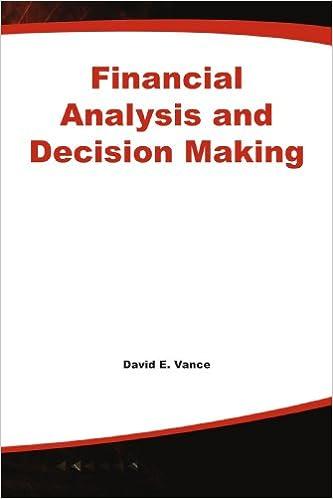 Ebook à télécharger gratuitement en ligneFinancial Analysis and Decision Making 0071590064 (Littérature Française) RTF by David E. Vance