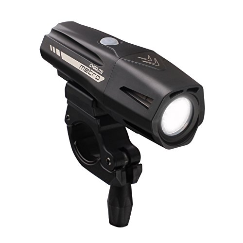 - Cygolite Metro Pro 1100 USB Rechargeable Bike Light, Black
