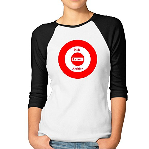 kyle-larson-archive-womens-3-4-sleeve-raglan-shirts-crazy