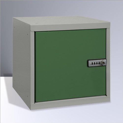 ADB Wertfach - Schließfach Würfel RAL 7035 5010 Zahlenkombination