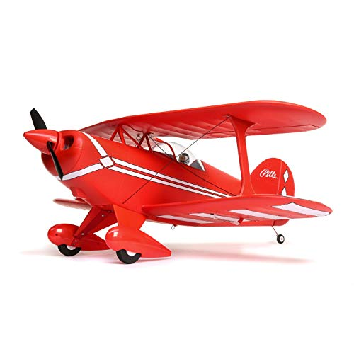 - E-flite Pitts S-1S Biplane 850mm RC Park Flyer Airplane BNF Basic with AS3X and Safe Select Technology (Transmitter, Battery and Charger Not Included)