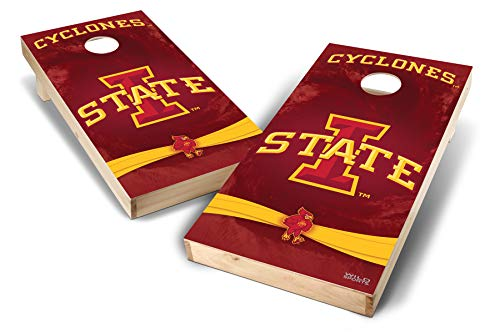 Iowa State Cyclones Game - PROLINE NCAA College 2' x 4' Iowa State Cyclones Cornhole Board Set - Wild