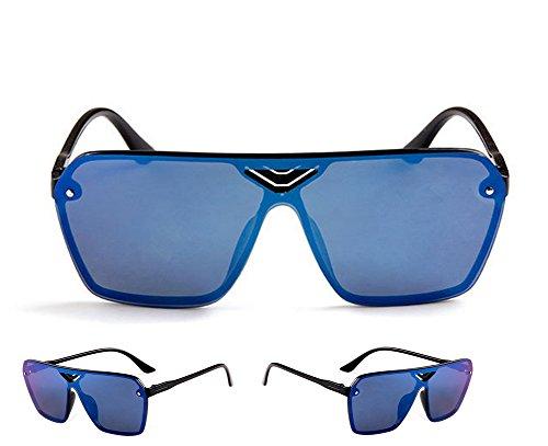 Retro de UV 142 Polarized protección Classic 140MM Gafas Azul 100 sol UV400 DaoRier 51 marrón 5CfRqwW