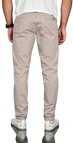 Salvarini grigio uomo dritto Pantalone Alessandro chiaro dpxwUY