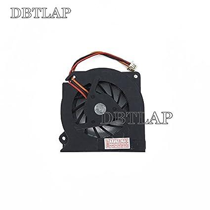 DBTLAP Ventilador de la CPU del Ordenador portátil para Fujitsu LifeBook T4010D S6230 S6240 S7025 S7020