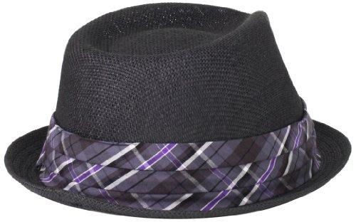 1ba846d7c5917 Cubavera Men s Toyo Black Paper Fedora Hat - Black -  Amazon.co.uk  Clothing