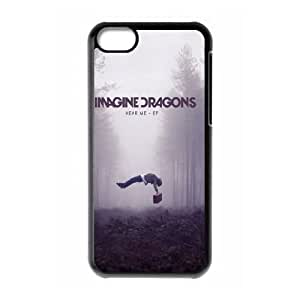 YUAHS(TM) Unique Phone Case for Iphone 5C with imagine dragons YAS931179