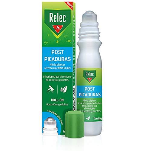 🥇 Relec Roll On Post-Picaduras de Insectos y Plantas   Alivia el picor