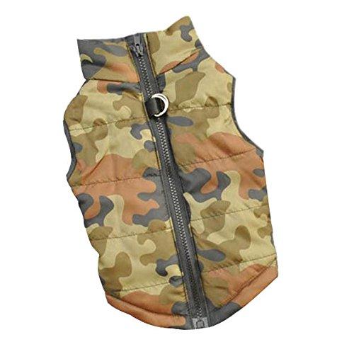 PanDaDa Padded Harness Jackets Camouflage