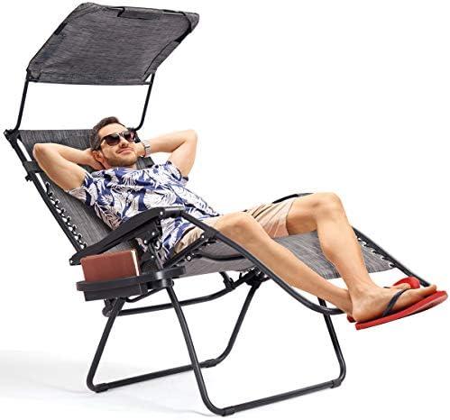 Folding Zero Gravity Lounge Chair