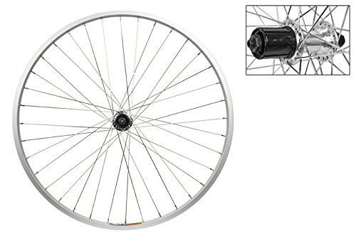 Wheel master Rear Bicycle Wheel 26 x 1.5 36H, Alloy, Quick Release, Silver, Shimano 8 speed Hub -  65699