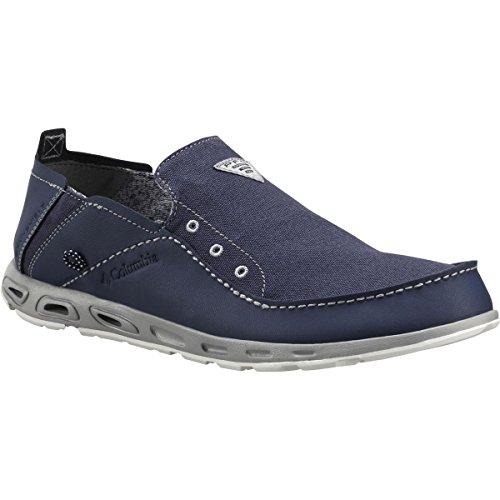 Columbia Men 's PFG de ventilación Bahama Slip-On zapatos de barco Nocturnal, Columbia Grey