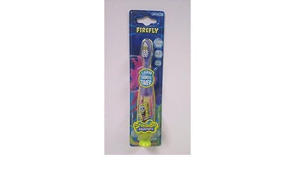 Cepillo de dientes, diseño de Bob Esponja con temporizador de cocina luminoso incorporado: Amazon.es: Salud y cuidado personal