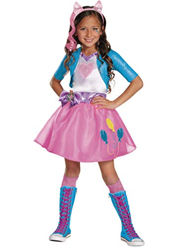 Easy Pinkie Pie Costumes - Pinkie Pie Equestrian Deluxe Costume, Large