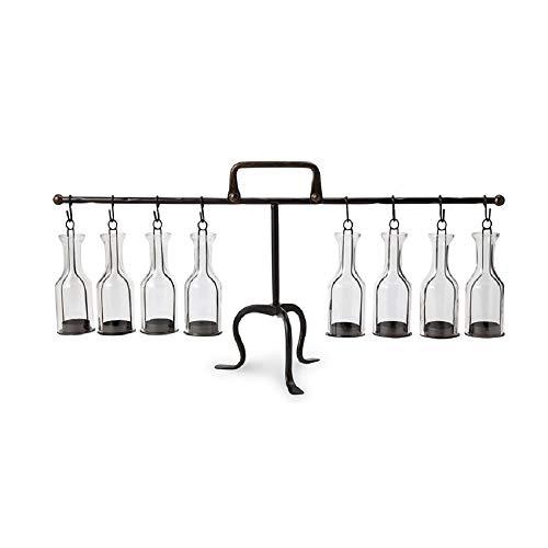 Hanging Bottle Tea Light Display