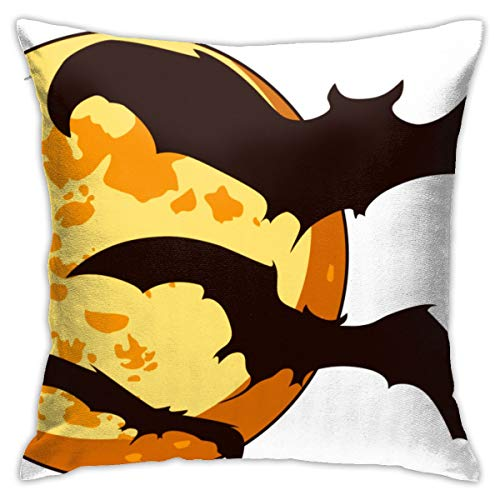 Ubjutbs-j Bat Cute Halloween.png Decorative Square Throw Pillow Covers Cushion Case for Home Sofa Bedroom Office Car 18 X 18 Inch 45 X 45 cm]()