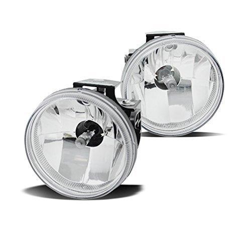 ZMAUTOPARTS Dodge Ram 1500/ 2500 3500 Sport Package Bumper Fog Lights Lamp Chrome