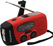(Classic Creator) iRonsnow Solar Emergency NOAA Weather Radio Dynamo Hand Crank Self Powered AM FM WB Radios 3