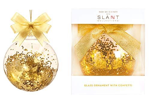 Gold Snowflake Ornaments Gold Christmas Ornaments Gold Glitter in 4