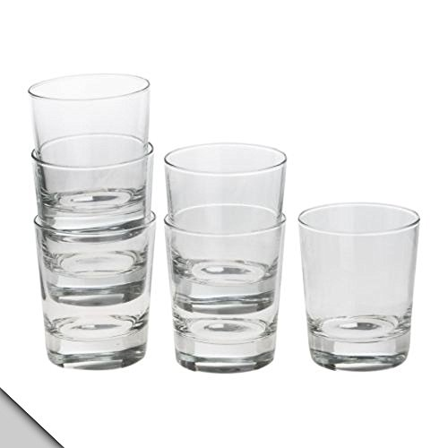 921 Glasses (IKEA - GODIS Glass, clear glass, H: 4