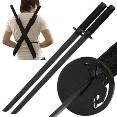 Amazon.com : Ninja Assassin Raizo Twin Sword Set : Sports ...