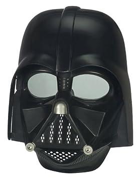 Amazon.com: Star Wars Force Tech Darth Vader Máscara ...