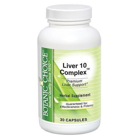 Botanic Choice Liver 10 Complex - 3PC