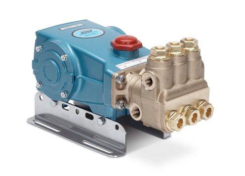 Cat Pumps 56-56 - 7-Frame Plunger Pump - 5.5 gpm, 3500 psi, 1210 rpm, Belt-Drive, Brass