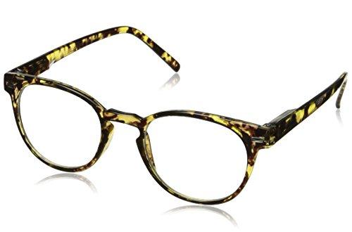 Peepers Men's Kennedy Bifocal 2293150 Round Reading Glasses, Golden Tortoise, - Sunglasses Kennedy