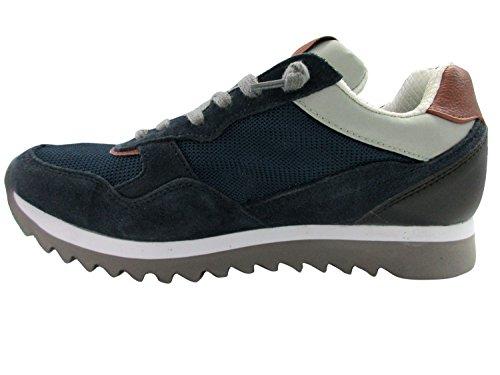 Scarpe Freyrie Blu Uomo Basse Sneaker RwxaYB